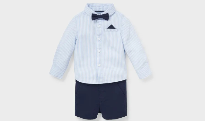 3 teiliges Baby-Outfit