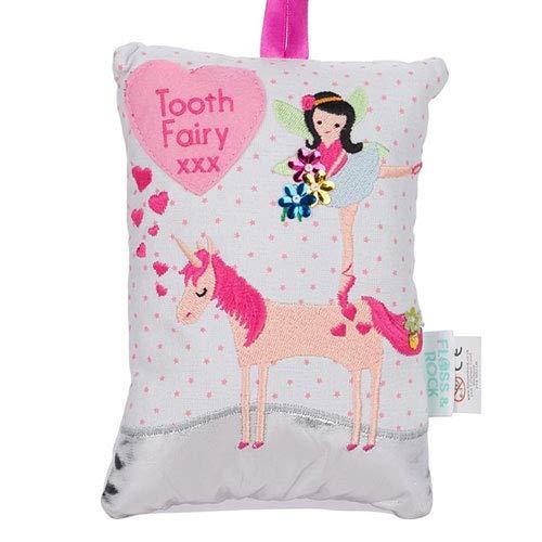 Zahnfee-Kissen mit Einhornmotiv