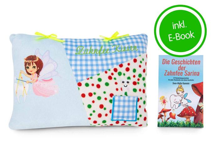 Zahnfee-Kissen inklusive E-Book