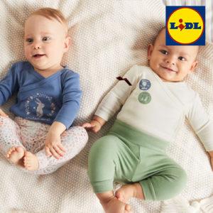 LIDL: Neue Babymode ab 4,99€