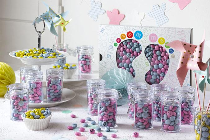 Candybar mit personalisierten M&Ms