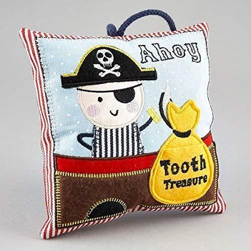 Zahnfee-Kissen im Piraten-Design