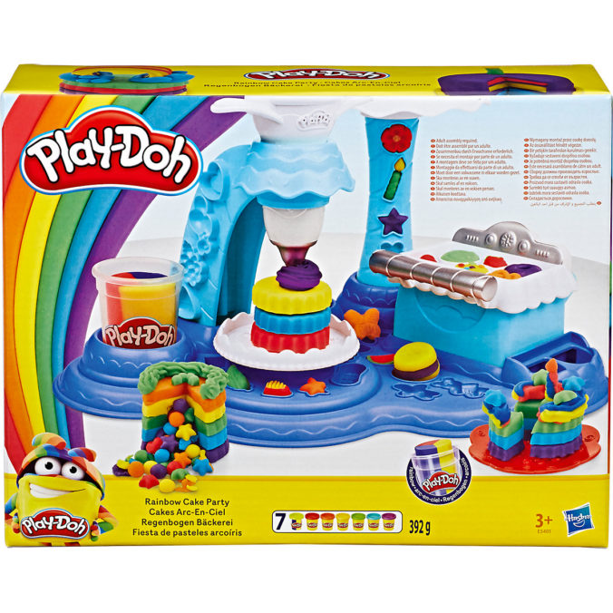 Play Doh Set Regenbogen Keks Party