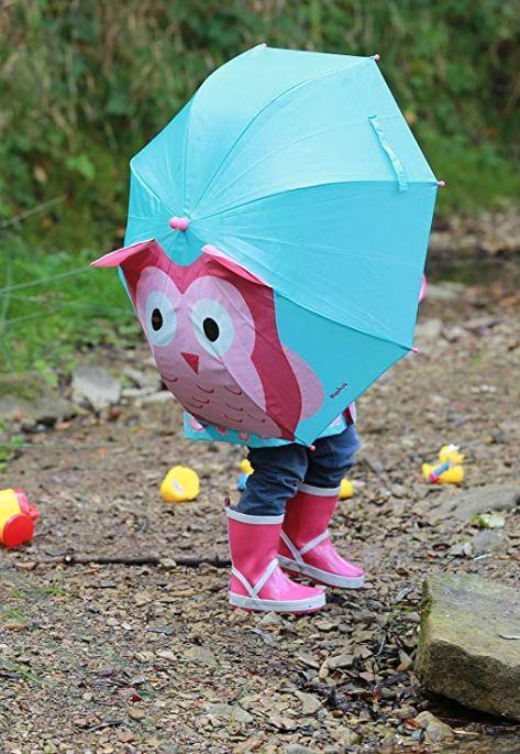 Regenschirm mit Eulenprint