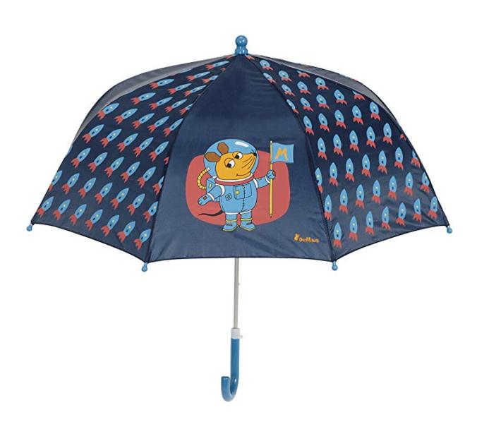 Regenschirm für Kinder Sendung mit der Maus Weltraum