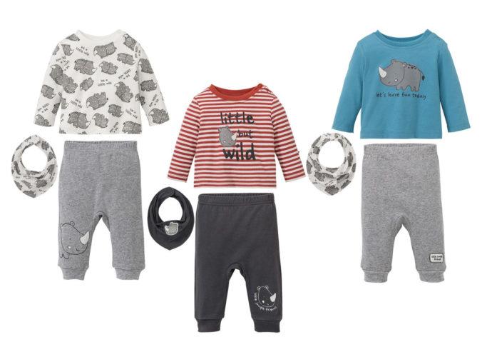 Modesets mit Nashornprint für Jungen