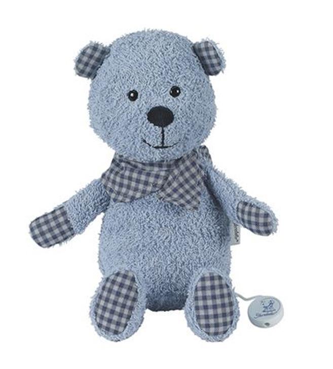 blaue Teddy Spieluhr von Sterntaler