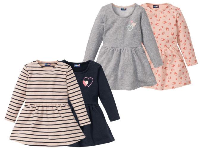 Vier Kleider für Mädchen von LIDL
