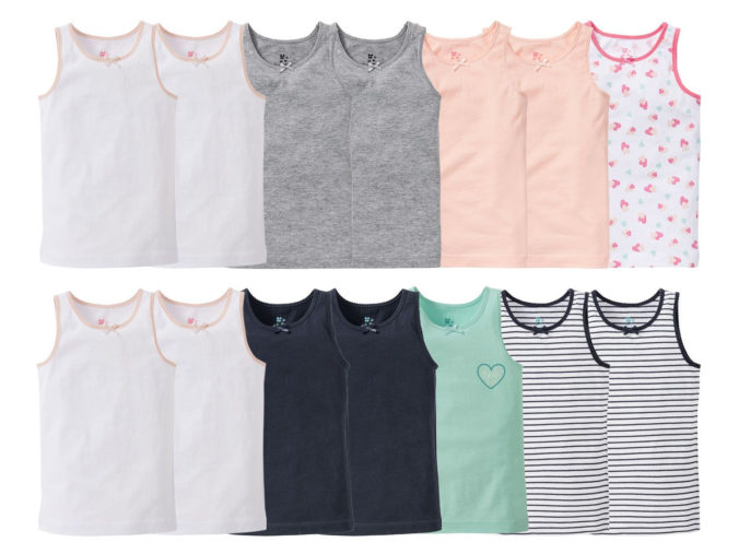 Unterhemden für Mädchen von LIDL