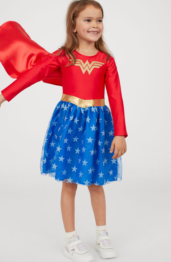 Kinderkostüm Wonderwoman