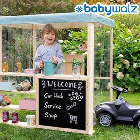 Tankstelle für Kinder