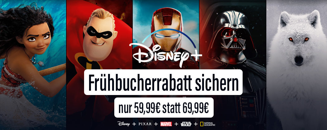 Disney+ Frühbucher Rabatt