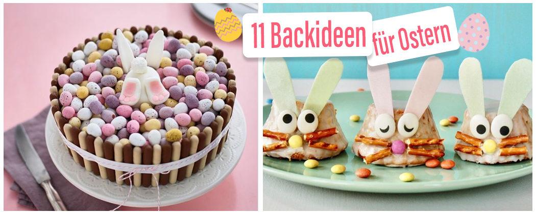 Banner: Die süßesten Backideen für Ostern!