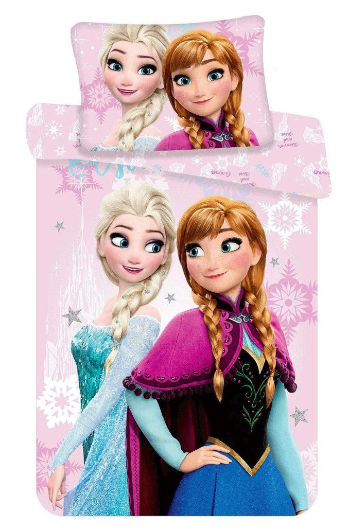 Kinderbettwäsche im Frozen Design