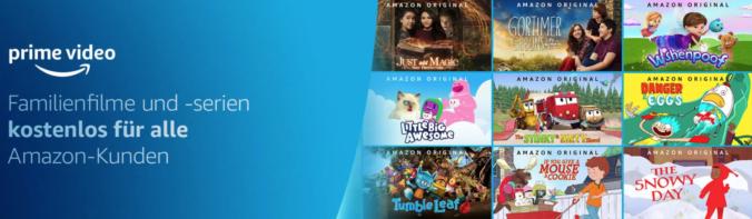 Amazon Filme und Serien