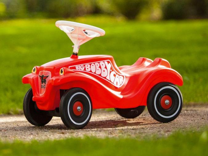 rotes Bobby Car
