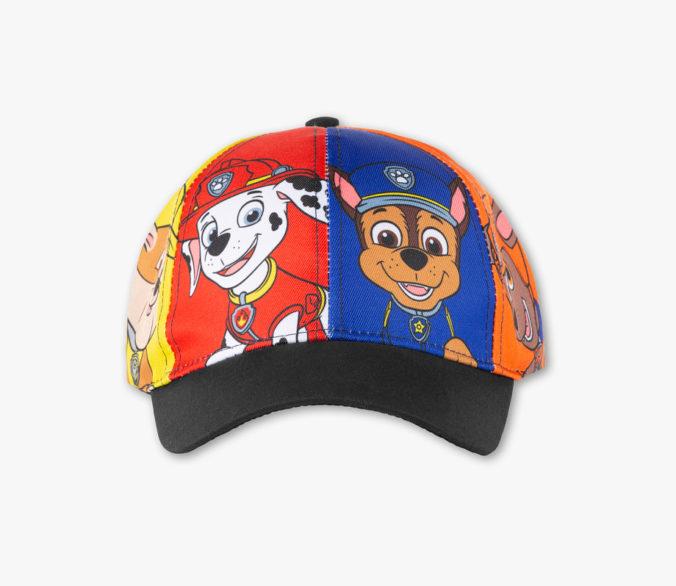 rundum bedruckte Cap mit Paw Patrol Motiv fuer Kinder