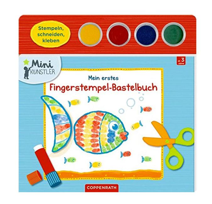 Fingerstempel-Bastelbuch für Kinder