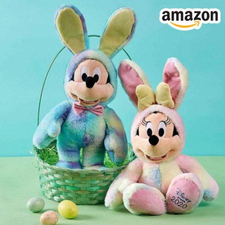 Mickey und Minney Mouse Kuscheltiere