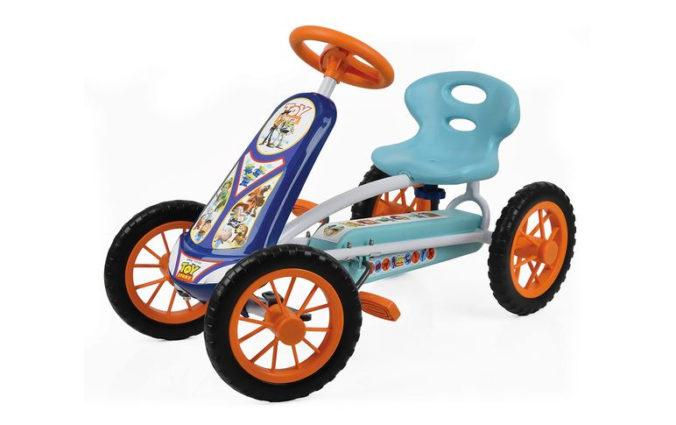 Go Kart im Toy Story Design fuer Kinder