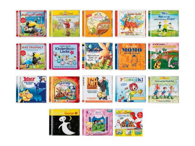 Hoerspiele und Musik-CD's fuer Kinder