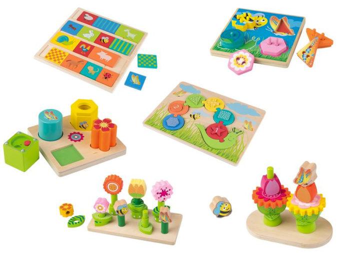 Holzspielzeug fuer Kleinkinder