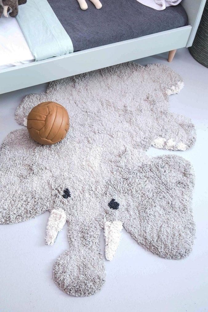 Elefanten Teppich