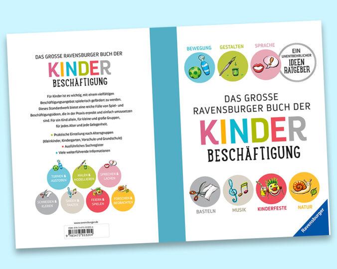 """Einband von """"Das große Ravensburger Buch der Kinderbeschäftigung"""""""