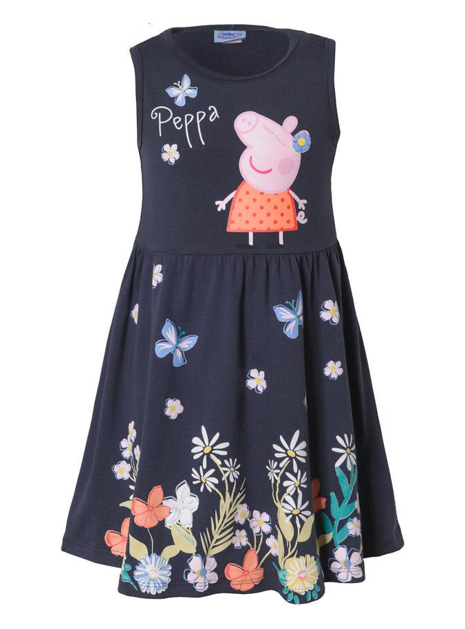 Kleid mit Peppa Wutz Print für Kinder