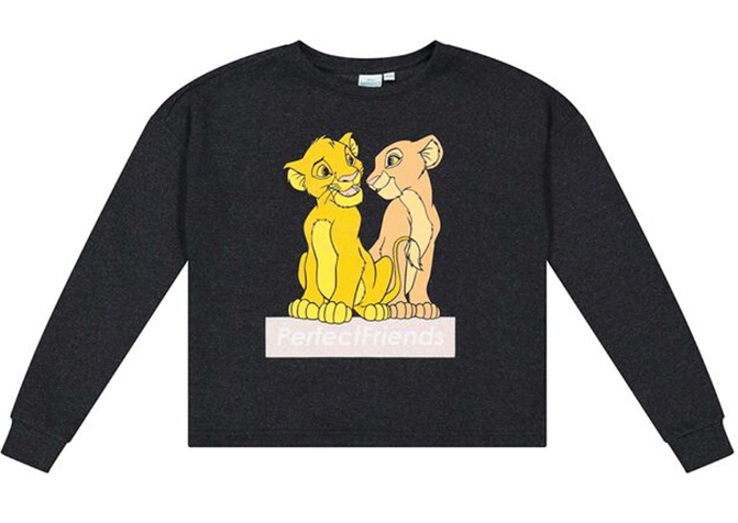 König der Löwen Langarmshirt für Kinder