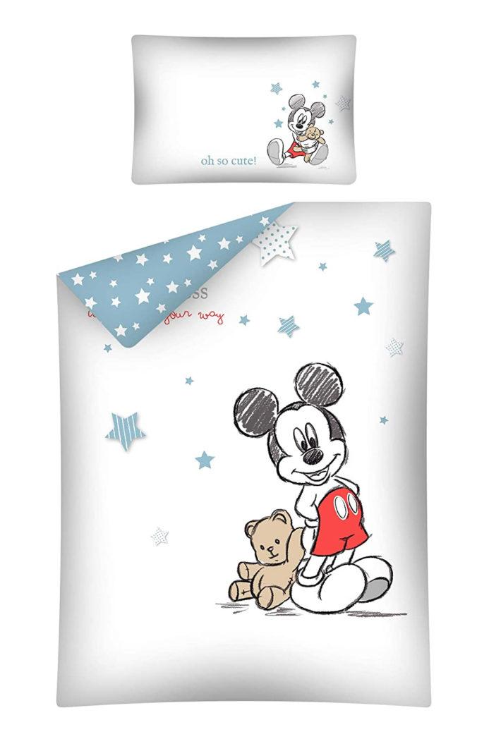 Kinderbettwäsche mit Mickey Mouse Motiv