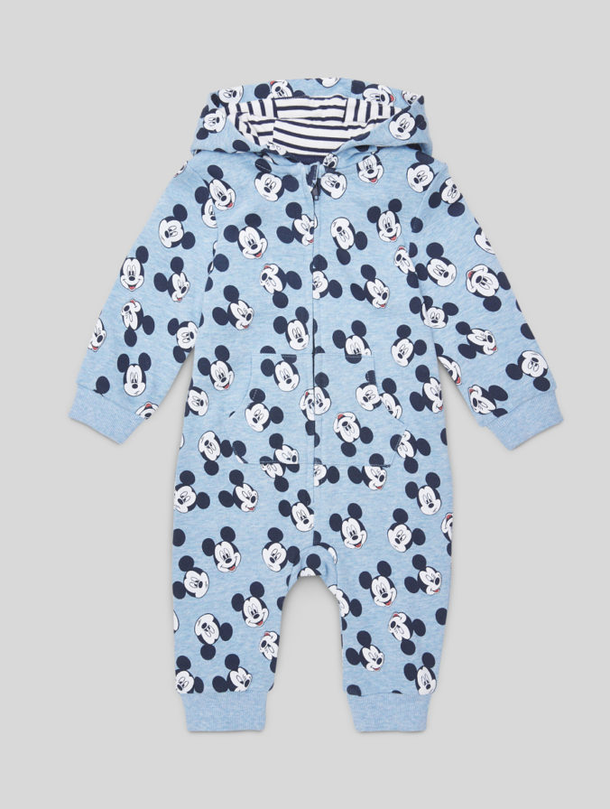 Baby-Overall mit Mickey Mouse Print