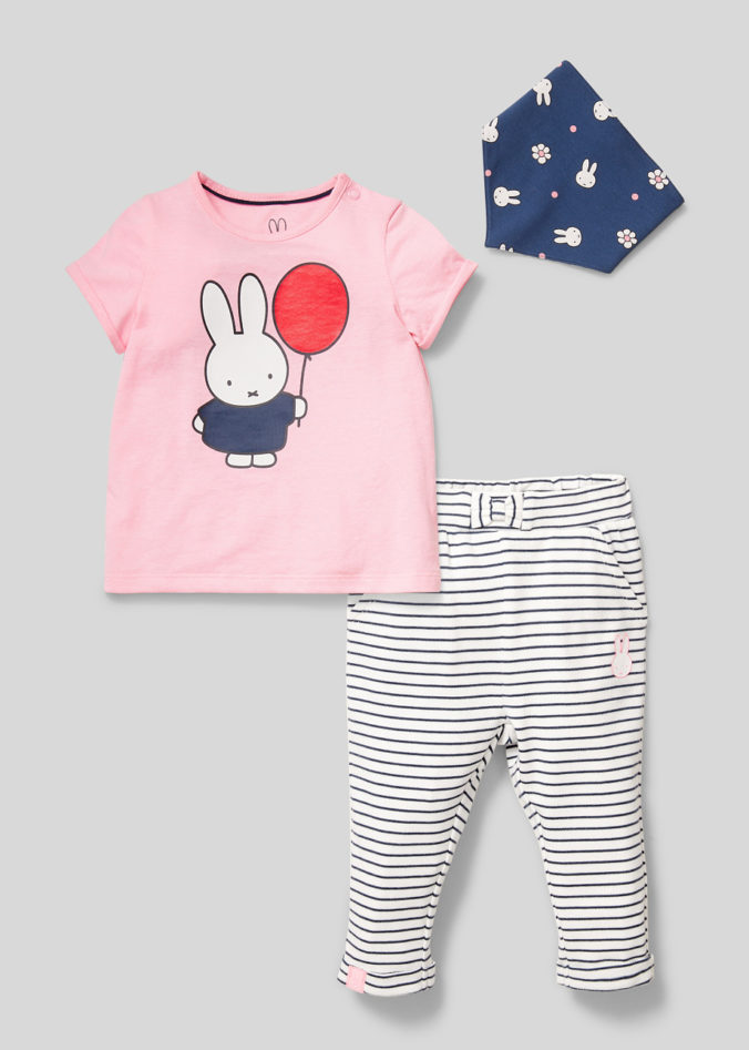 Baby-Outfit mit Miffy Print