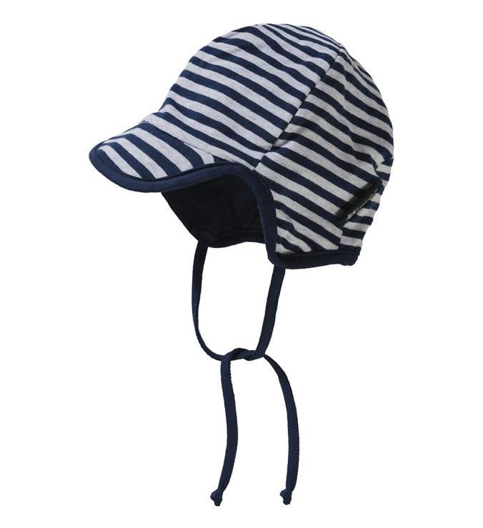 gestreifte Schirmmütze für Babys