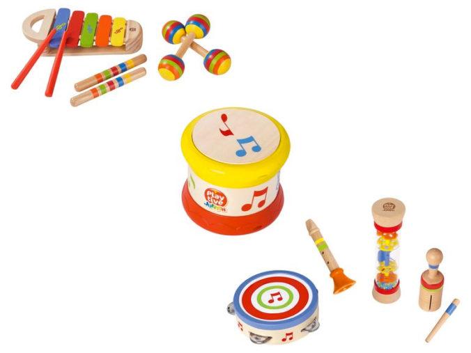 Musikinstrumente fuer Kleinkinder
