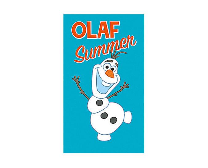 Badehandtuch mit Olaf von Frozen