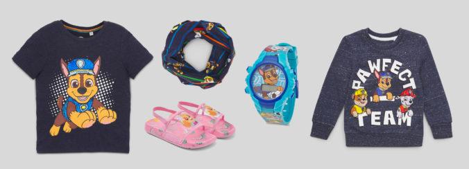 Paw Patrol Mode und Accessoires fuer Kinder