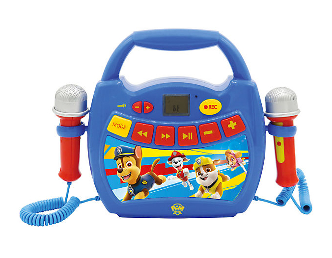 Paw Patrol Karaoke Player fuer Kinder