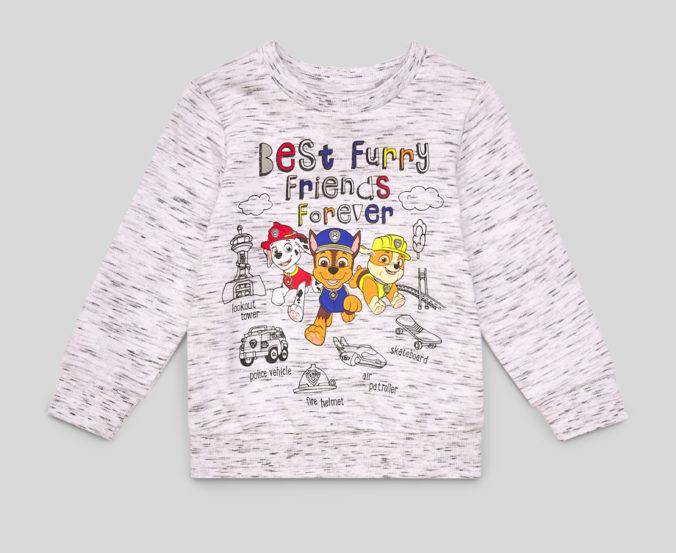 Sewatshirt mit Paw Patrol Print fuer Kinder
