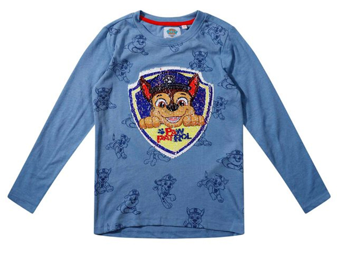 Paw Patrol Wendepailletten Shirt