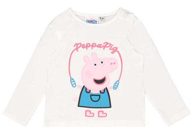 Peppa Wutz Langarmshirt für Mädchen