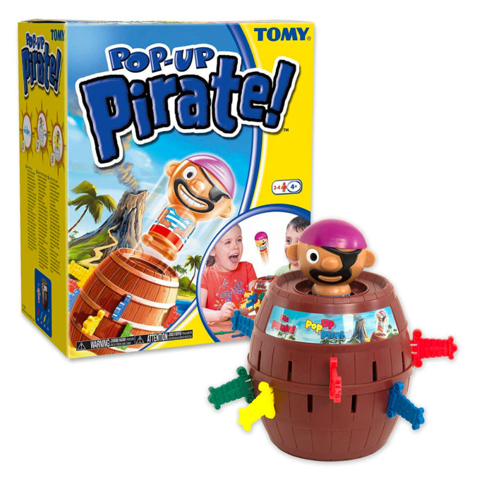 Kinderspiel Pop-Up Pirate