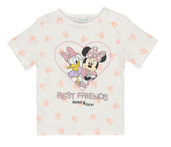 T-Shirt mit Minnie Mouse und Daisy für Kinder
