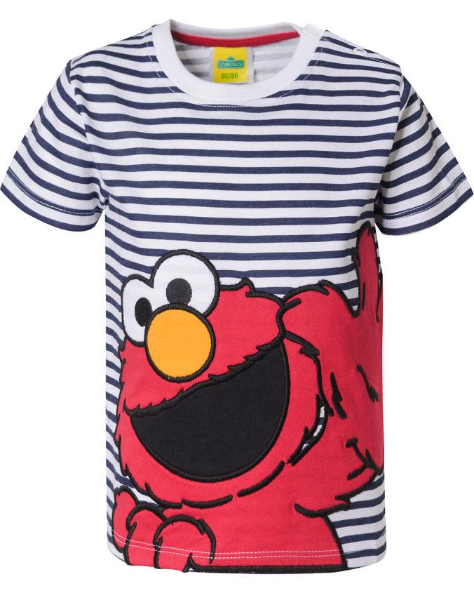 T-Shirt mit Sesamstraßen-Print für Jungen
