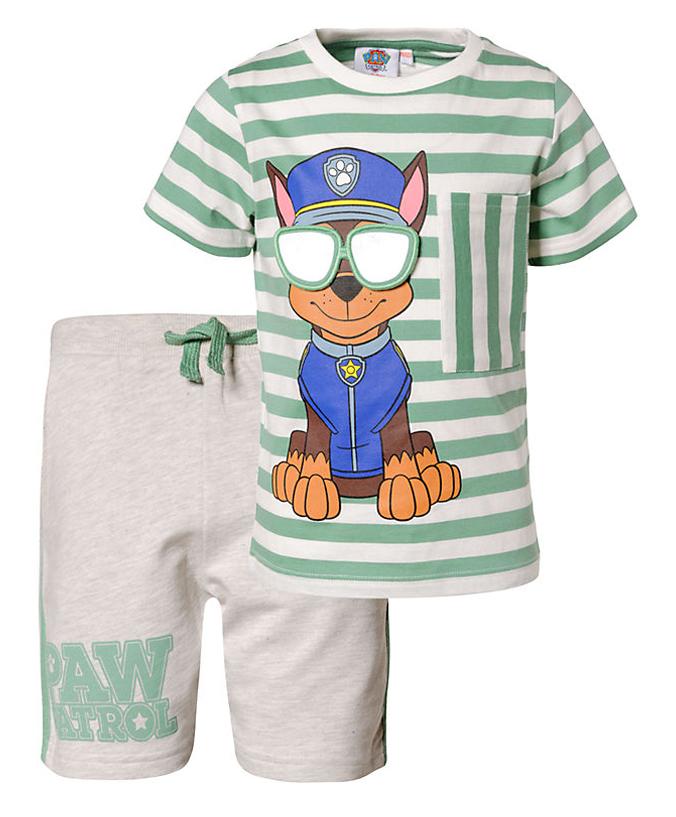T-Shirt und Shorts im Paw Patrol Design