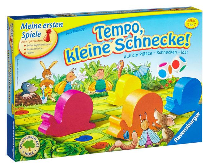 Kinderspiel Tempo kleine Schnecke