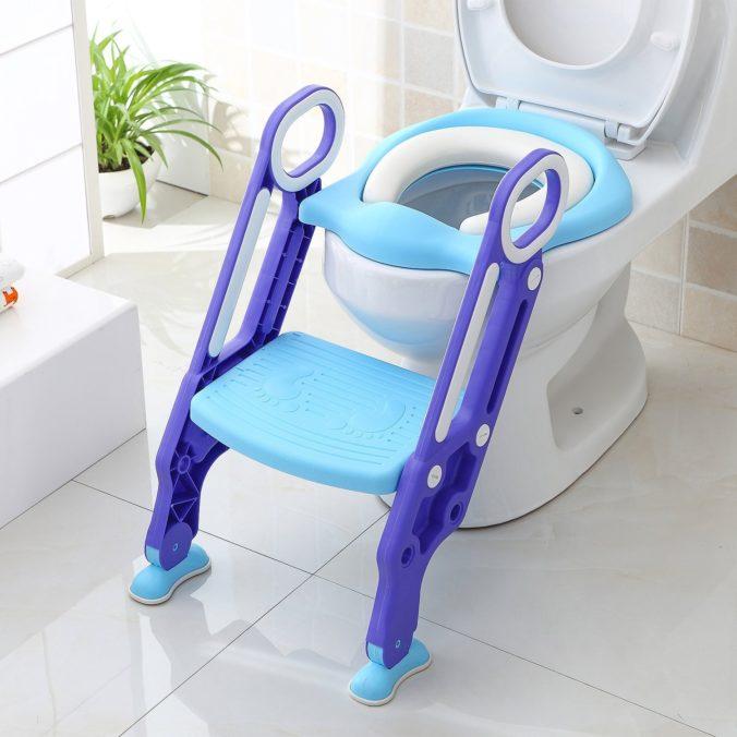 Kindertreppe für Toilette