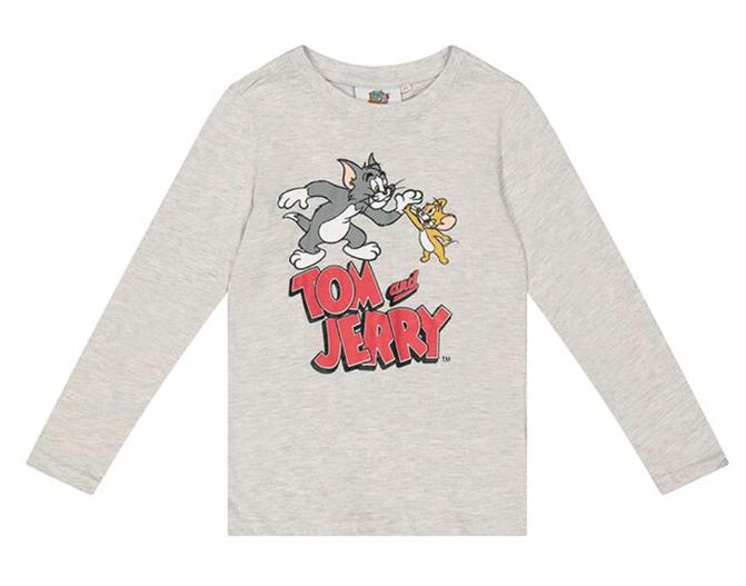 Tom und Jerry Langarmshirt für Kinder