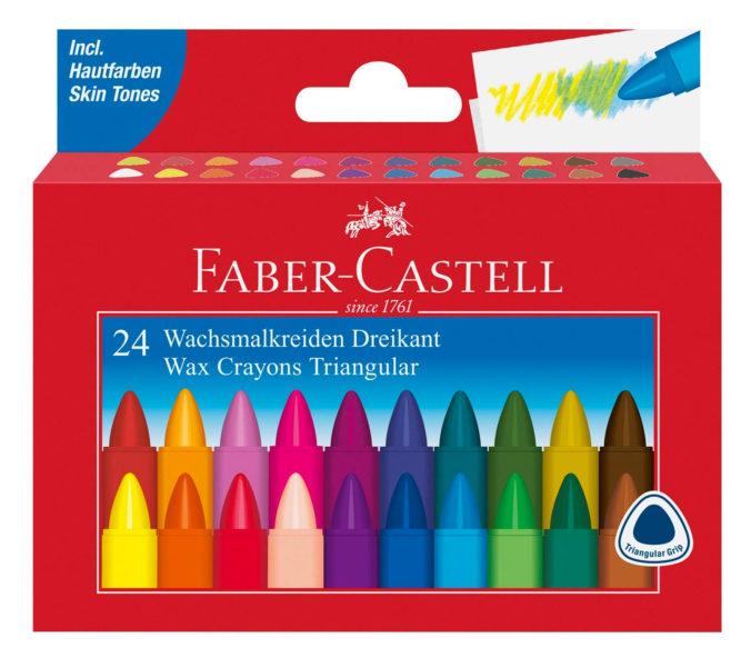 Wachsmalstife von Faber Castell