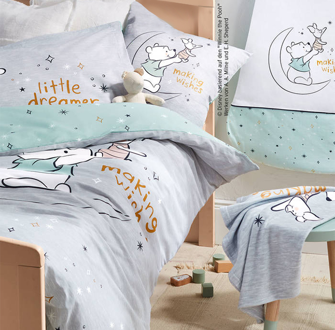 Winnie Bettwäsche und Schlafsack